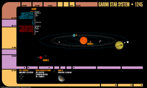 Scytale Star System Map