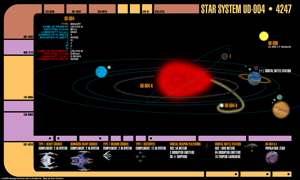 Star System UD-004 Map