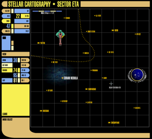 Sector Eta Map
