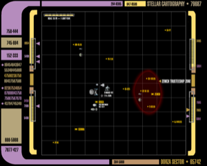 Proposed deployment map, Dorza Sector