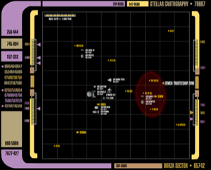 Initial deployment map, Dorza Sector