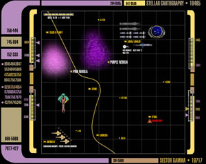Stellar Cartography Sector Gamma