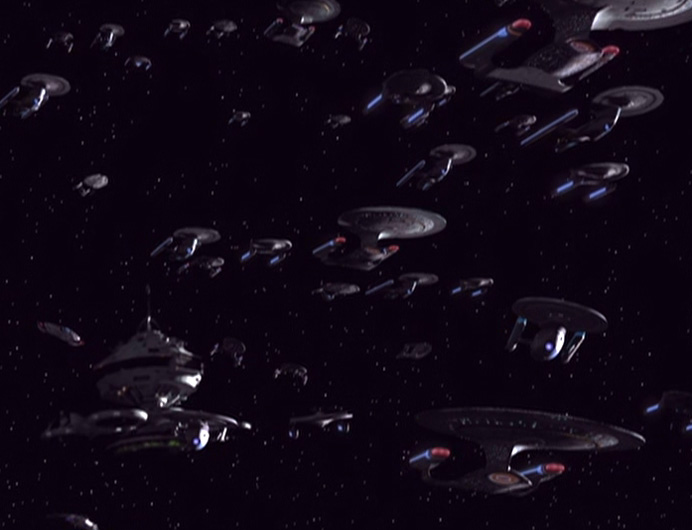 Starfleet advances
