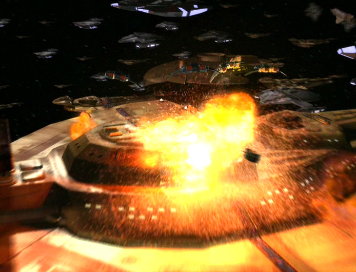The Dominion-Cardassian fleet