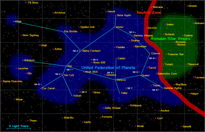 map of federation of planets - photo #9