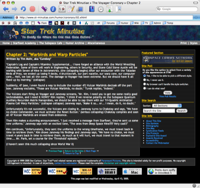 Screenshot of STM content page, version 4