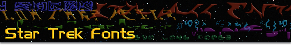 Collected Star Trek Fonts