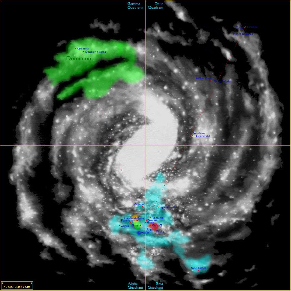 Star Trek Restoration Stellar Cartography  Star Trek Minutiae